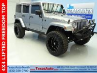 RUBICON-4X4-LIFTED-FREEDOM TOP-NAV-BLUETOOTH-U