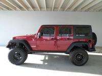 Drivers only for this sleek and agile 2013 Jeep