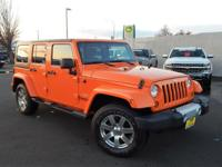 Options:  2013 Jeep Wrangler Unlimited Sahara|We Offer