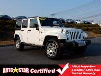 4X4! Dont let the miles fool you! This 2013 Wrangler is