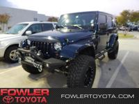 Custom Sahara Unlimited! Lift Kit! Offroad Wheels and