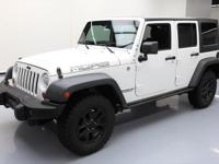 2013 Jeep Wrangler with MOAB Edition Package,3.6L V6