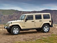 2013 Jeep Wrangler Unlimited Sahara White 3.6L V6 24V
