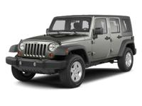 Clean CARFAX. 2013 Jeep Wrangler Unlimited Sahara in