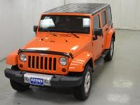 2013 JEEP WRANGLER UNLIMITED. SAHARA PACKAGE. LOADED.