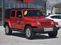 2013 Jeep Wrangler Unlimited Sahara Flame Red Clearcoat