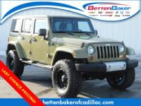 **LIFTED** 2013 Jeep Wrangler Unlimited Sahara! BRAND