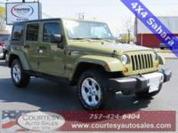 Jeep Wrangler Sahara Unlimited -- Clean One Owner Car