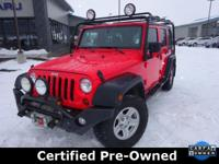 Options:  2013 Jeep Wrangler Unlimited Sport|Carfax