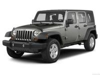 Take command of the road in the 2013 Jeep Wrangler