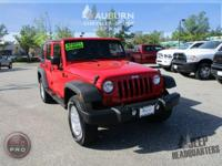 4WD, HARD TOP!  This 2013 Jeep Wrangler Unlimited Sport