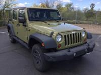 CARFAX ONE OWNER! Hard Top! Wrangler Unlimited Sport,