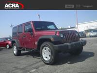 2013 Jeep Wrangler Unlimited, key features include: an