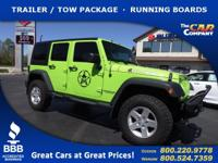 Used 2013 Jeep Wrangler Unlimited, DESIRABLE FEATURES:
