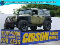 WWW.GIBSONTRUCKWORLD.COM*2013 Jeep Wrangler Unlimited