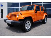 2013 Jeep Wrangler Unlimited SUV 4X4 Sahara Our