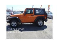 ~~~ONE OWNER~~2013 JEEP WRANGLER SPORT 4x4~~~well