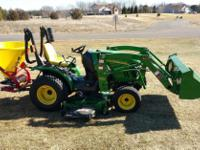 Type:GardenType:Tractor2013 John Deere 2320 model for $