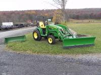 This auction is for a 2013 John Deere 3520 Compact