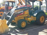 Loaders All-Wheel Loaders. 2013 John Deere Construction