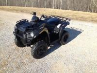 2013 Kawasaki strength 300. 180 miles. 2wd. This quad