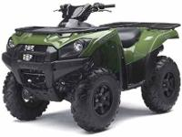 The Brute Force 750 4x4i ATV is a V-twin powered sport