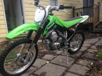 The Kawasaki KLX 140L is for the taller rider that