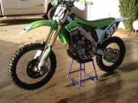 Make: Kawasaki Year: 2013 Condition: Used ONLY TRAIL