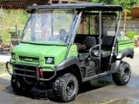 ADULT owned GARAGE KEPT 2013 Kawasaki MULE 4010 TRANS