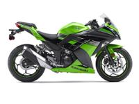 2013 KAWASAKI NINJA 300 ABS. TEAM GREEN & BLACK.IN