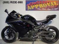 2013 Kawasaki Ninja 300 Crotch Rocket for sale with