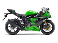 2013 Kawasaki Ninja ZX-6R BOTH COLORS AVAILABLE the