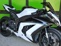 Immaculate ZX10R for sale!  Don't miss an opportunity