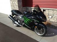 2013 Kawasaki ZX14R Ninja- I bought this bike new on