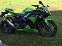 I am selling my 2013 kawaski ninja 300 special edition.