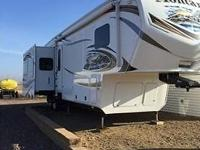 This Gorgeous 2013 Keystone Montana 3402RL 5th Wheel Is
