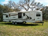 Keystone Raptor 365 LEV Toy Hauler fifth wheel. 6