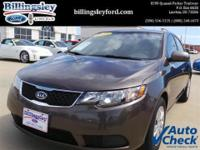 Energy-efficient and cost-effective, this 2013 Kia