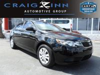 This 2013 Kia Forte EX will sell fast -Bluetooth -Aux.