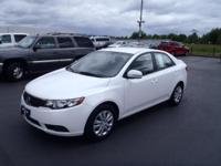 CARFAX One-Owner. 2013 Kia Forte EX Black One Owner,