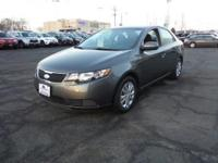 Gray 2013 Kia Forte EX FWD 6-Speed Automatic with