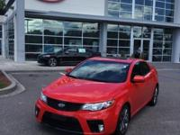 New Price! Racing Red 2013 Kia Forte Koup SX FWD