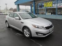 The 2013 Kia Optima offers strong acceleration, a well