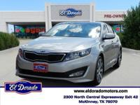 2013 Kia Optima 4dr Car SX Our Area is: El Dorado