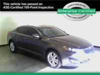 Kia Optima Looking for a touch of luxury at an