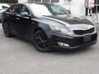 Recent Arrival! Certified. 2013 Kia Optima EX Ebony