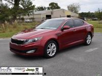 Red 2013 Kia Optima EX FWD 6-Speed Automatic with