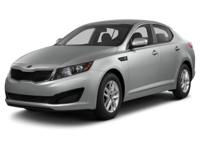 Options:  2013 Kia Optima Ex|For Internet Pricing And