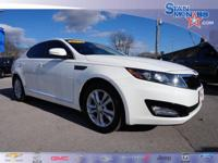 This outstanding example of a 2013 Kia Optima EX is