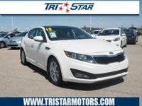Treat yourself to this 2013 Kia Optima EX, which
